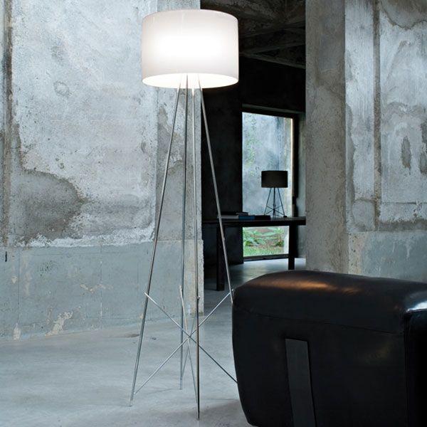 Flos Ray F1 Stehleuchte http\/\/wwwflindersde\/flos-lampen\/ #flos - moderne wohnzimmer stehlampe