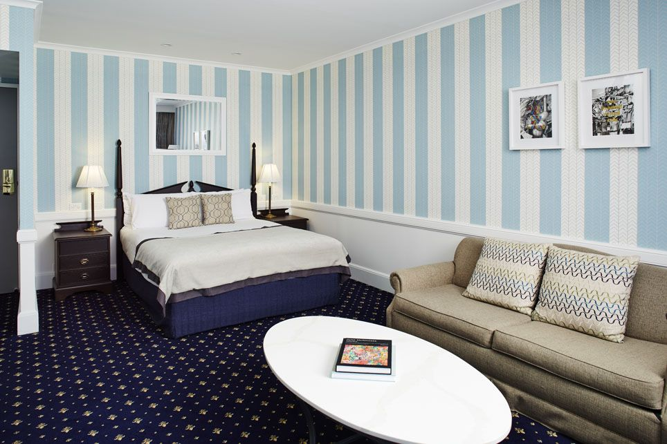 Spacious, well appointed guest rooms and suites.