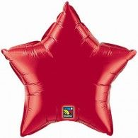 45cm Star - Ruby Red $9.50 (Inflated) Q12626
