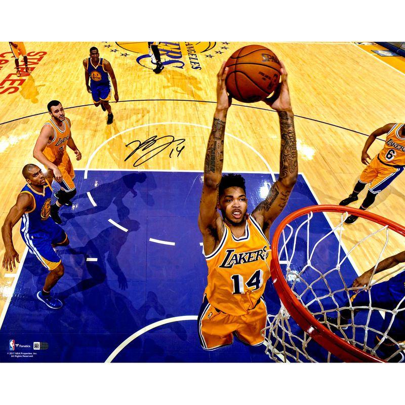9276fa55ebe Brandon Ingram Los Angeles Lakers Fanatics Authentic Autographed 16