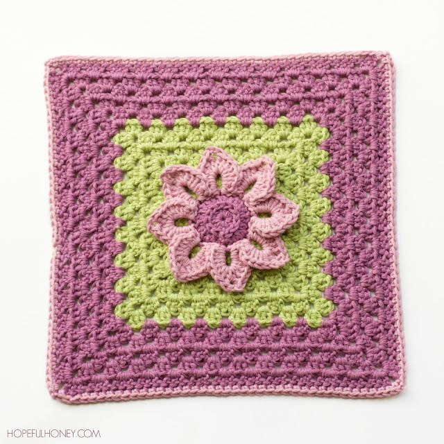 Prepare to capture a bit of nature's magic with your hook and yarn! The Water Lily Crochet Granny Square Pattern is a simple yet stunning design. After you've crocheted your lily, you'll crochet a granny square from its center, creating like a little lily pad to hold your flower.
