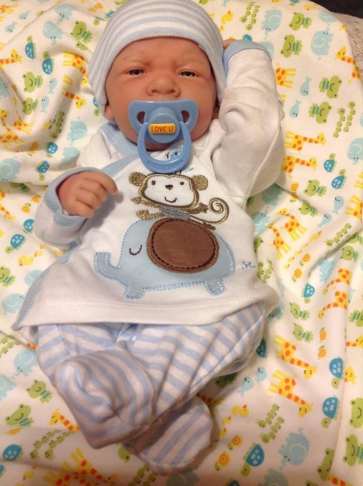 Details About Aww Baby Boy Quot Doggies Quot Preemie Life Like