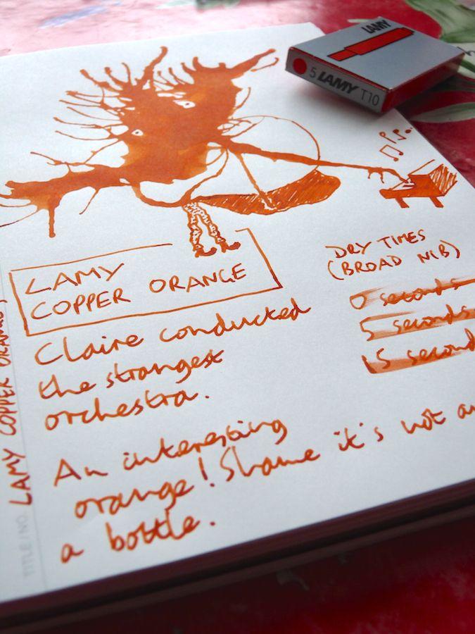 Pentel Slicci Gel Ink Pen - 0.4 mm - Burnt Orange Ink - PENTEL BG204- ...