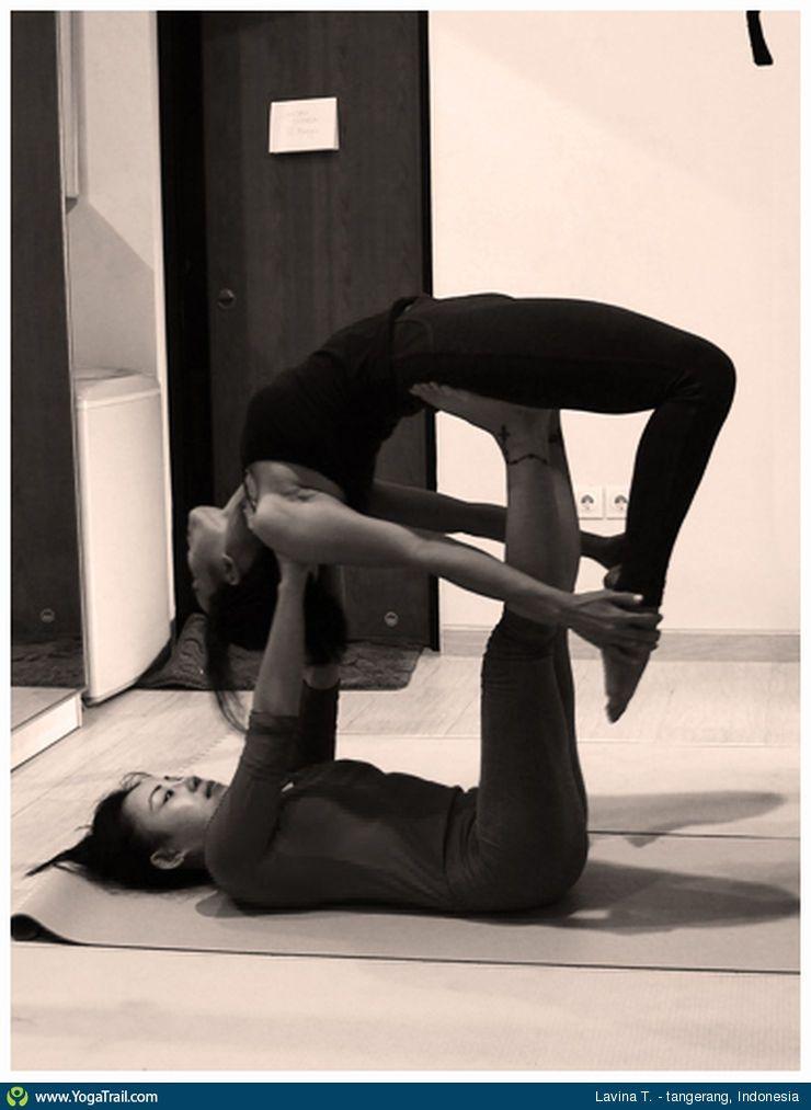Yoga Pose Uploaded By Lavina Taurina Yoga Poses Partner Yoga Yoga