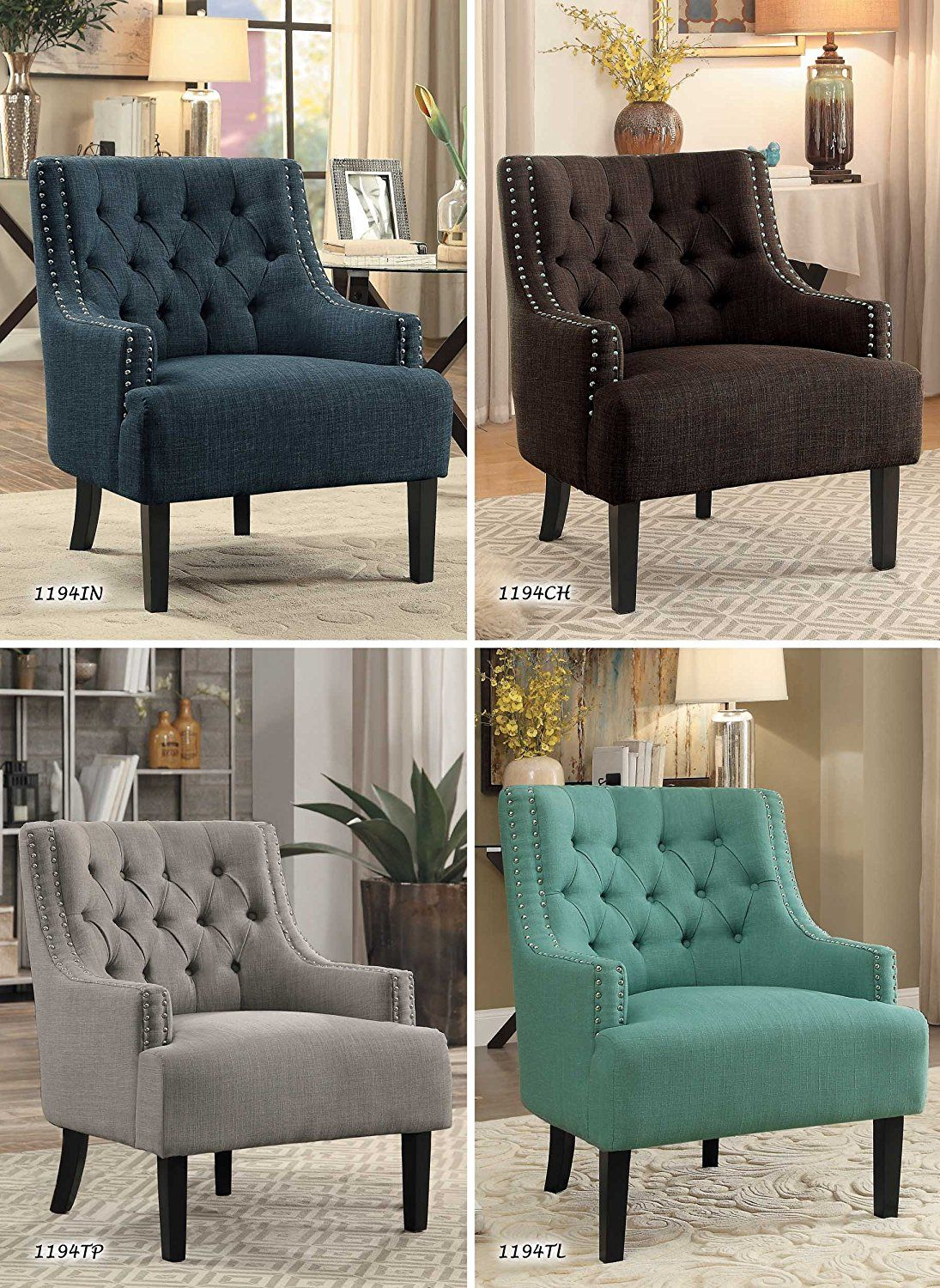 Amazon Com Homelegance Charisma Fabric Uphostered Accent Chair Taupe Kitchen Dining Living Room Sofa Design Grey Home Decor Master Bedrooms Decor