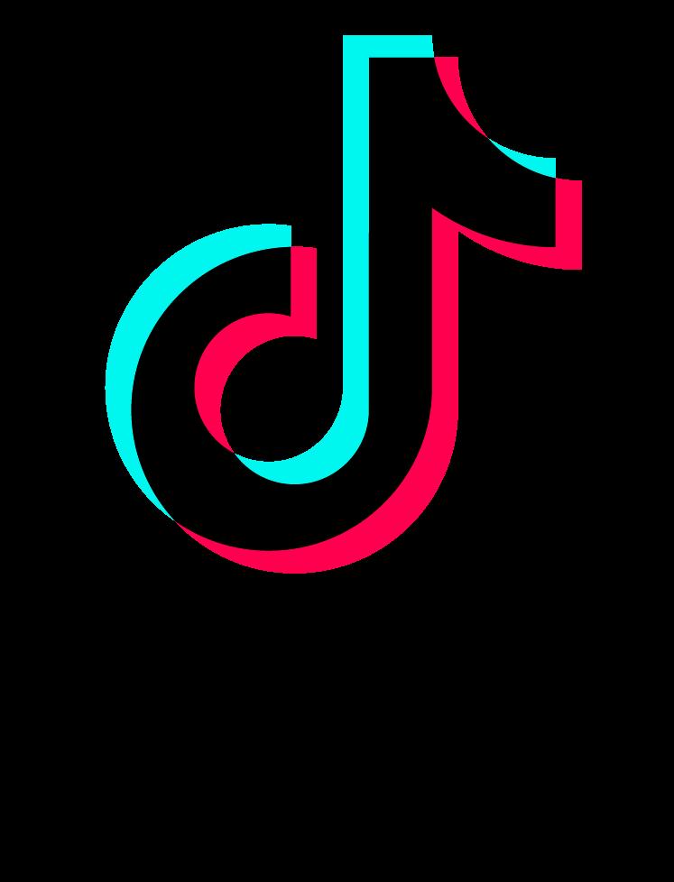 Tik Tok Logo With Font PNG Image | Tik tok, Editing ...