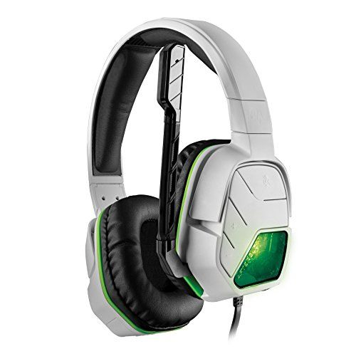 PDP Afterglow LVL 5 Wired Headset for Xbox One White ** Details can ...