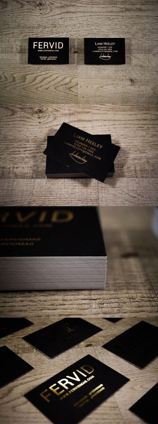 Gold foil business cards on 400gsm card stock auraprint gold foil business cards on 400gsm card stock auraprint reheart Image collections