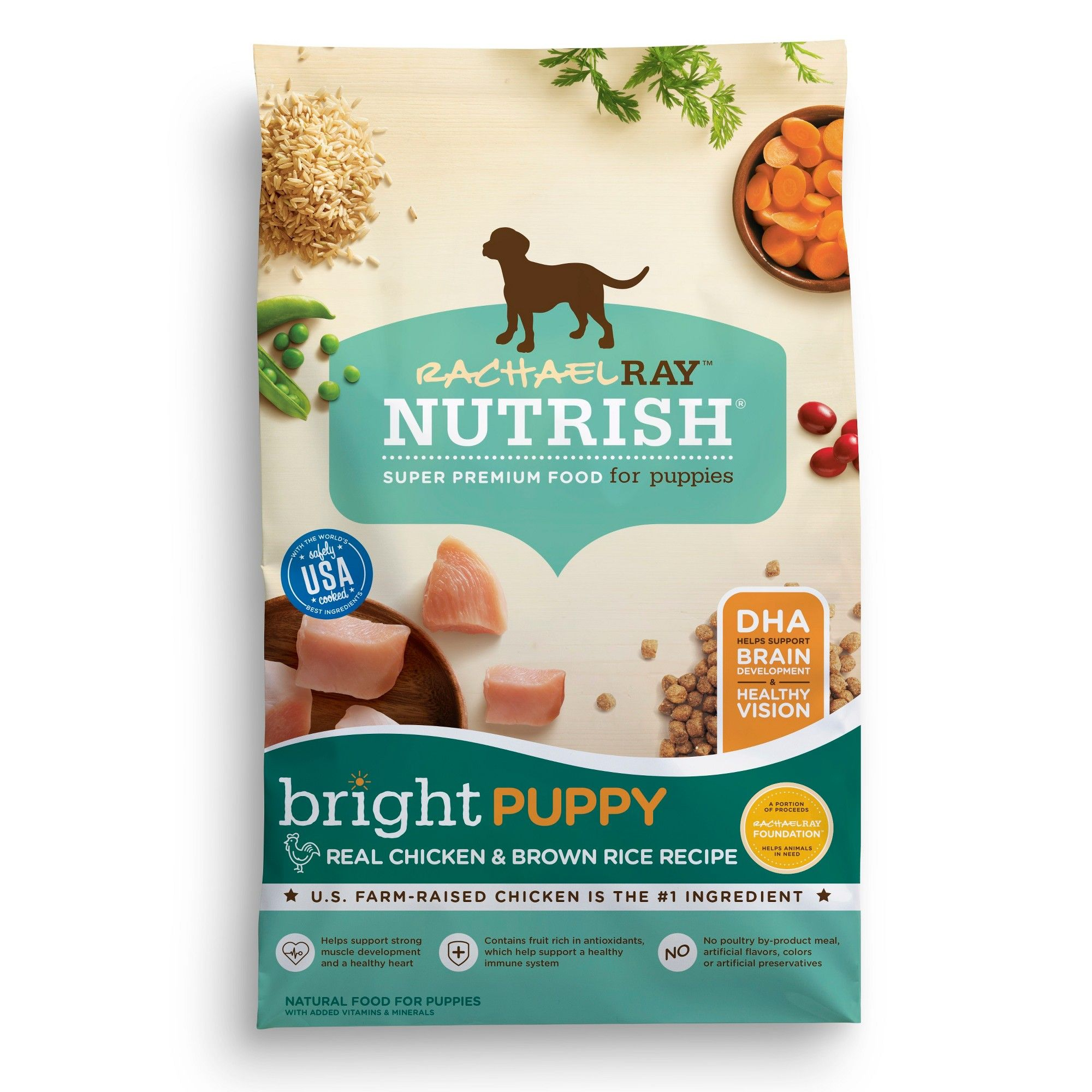 Rachael Ray Nutrish Dry Dog Food 14lb Brown Rice Recipes Dog