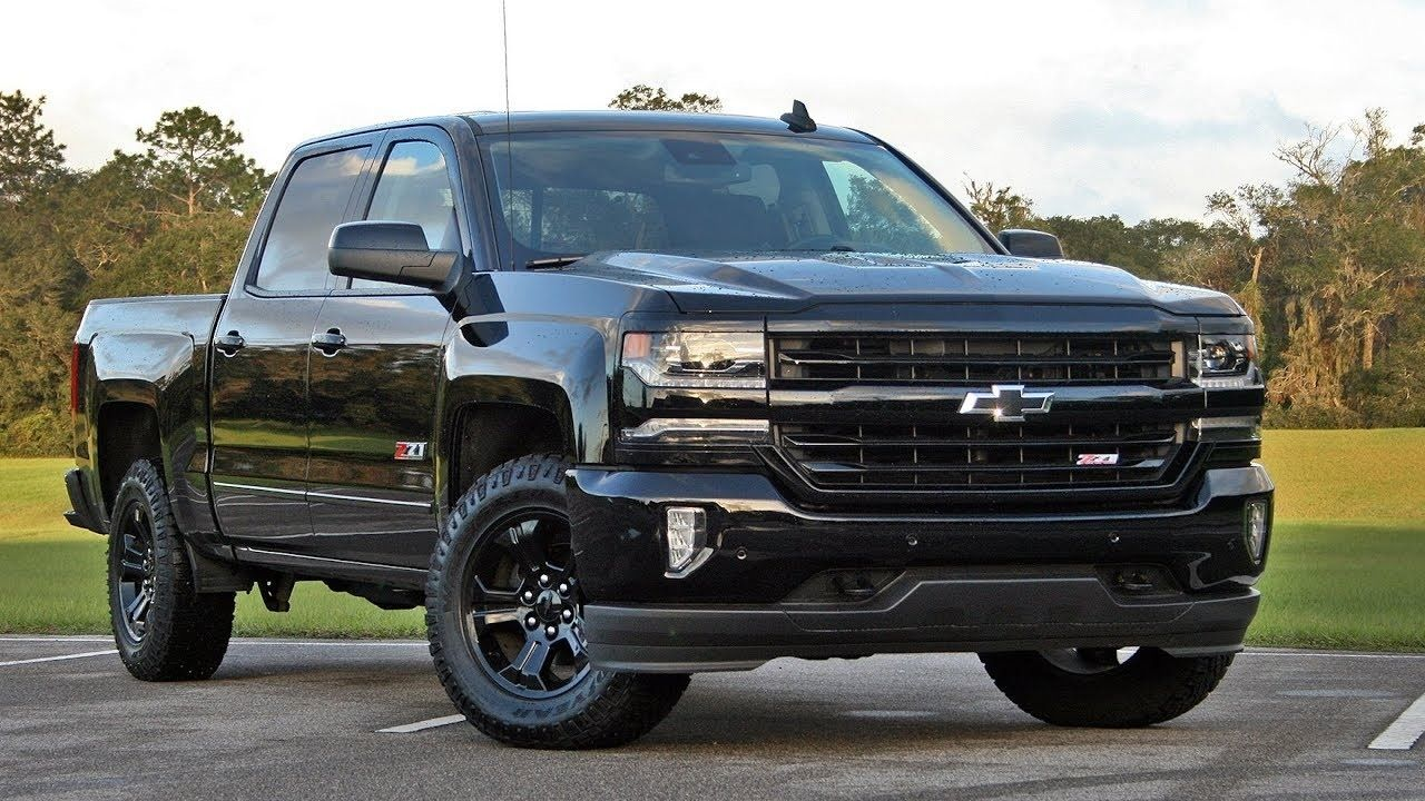 2019 Chevrolet Silverado Midnight Edition Redesign