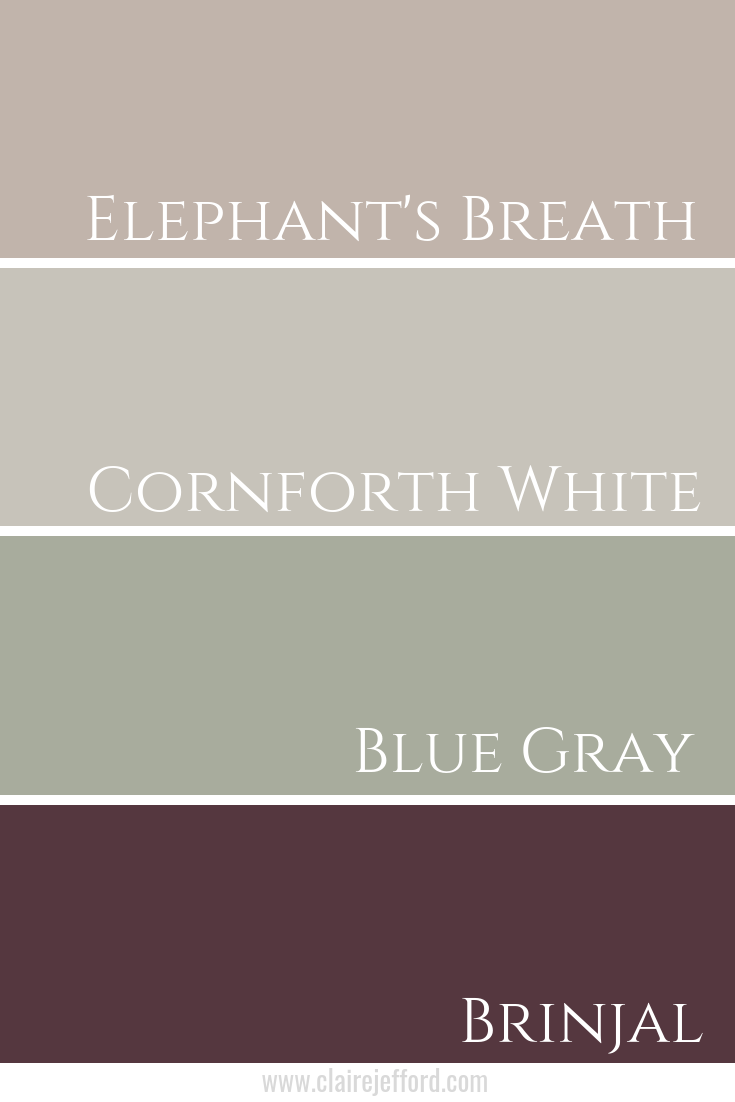 Farrow and Ball Colour Palette
