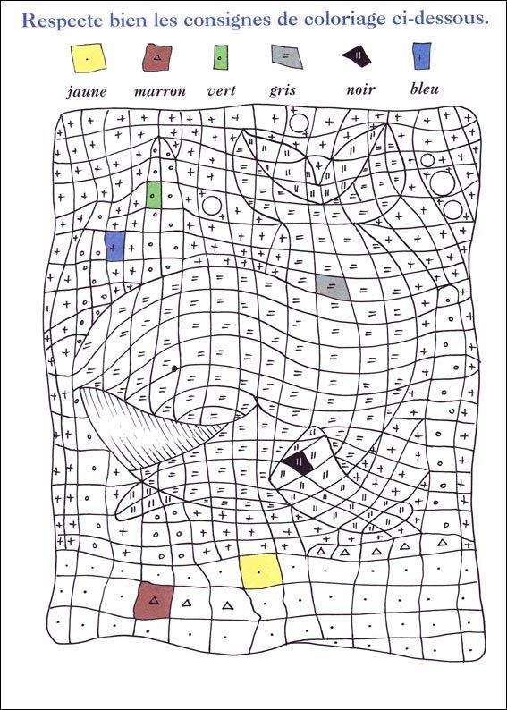 Coloriage Magique A Imprimer Coloriage Coloriage Magique