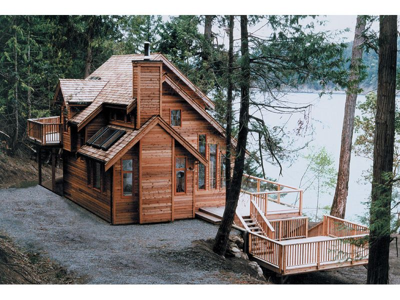 Lake cottage style home plans