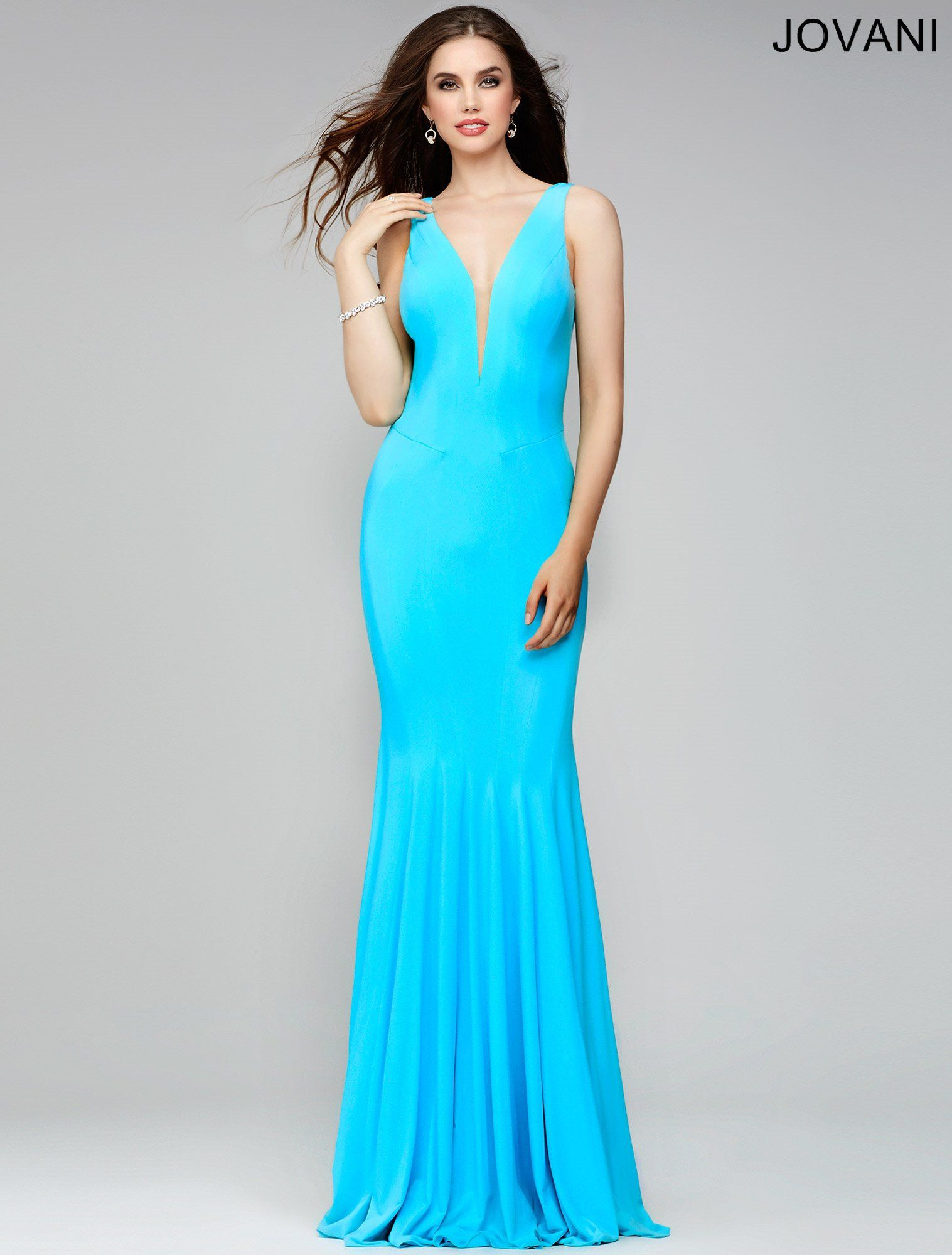 Tiffany Blue Sleeveless Fitted Prom Dress 28548 | Cool stuff to ...