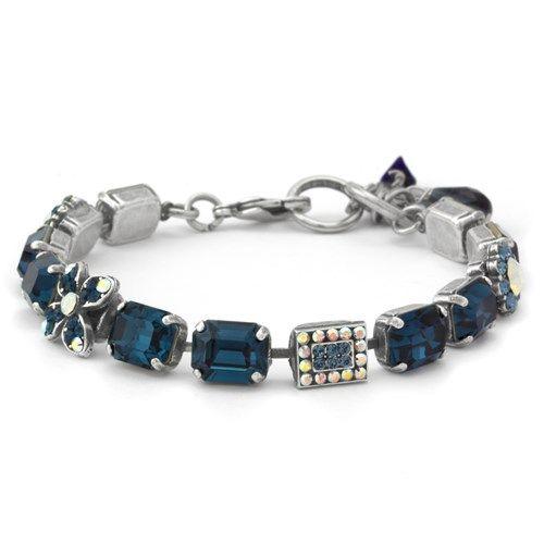 4b12037c2 Mariana Mood Indigo Squares Bracelet - Elisa Ilana | Cool Jewelry in ...