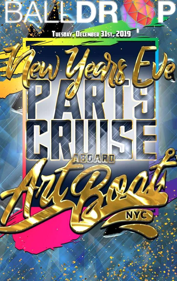 Times Square New Years Eve at Art Boat NYC NYC New Years
