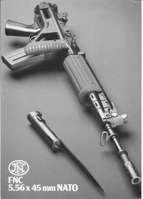 FN FNC in 5.56x45
