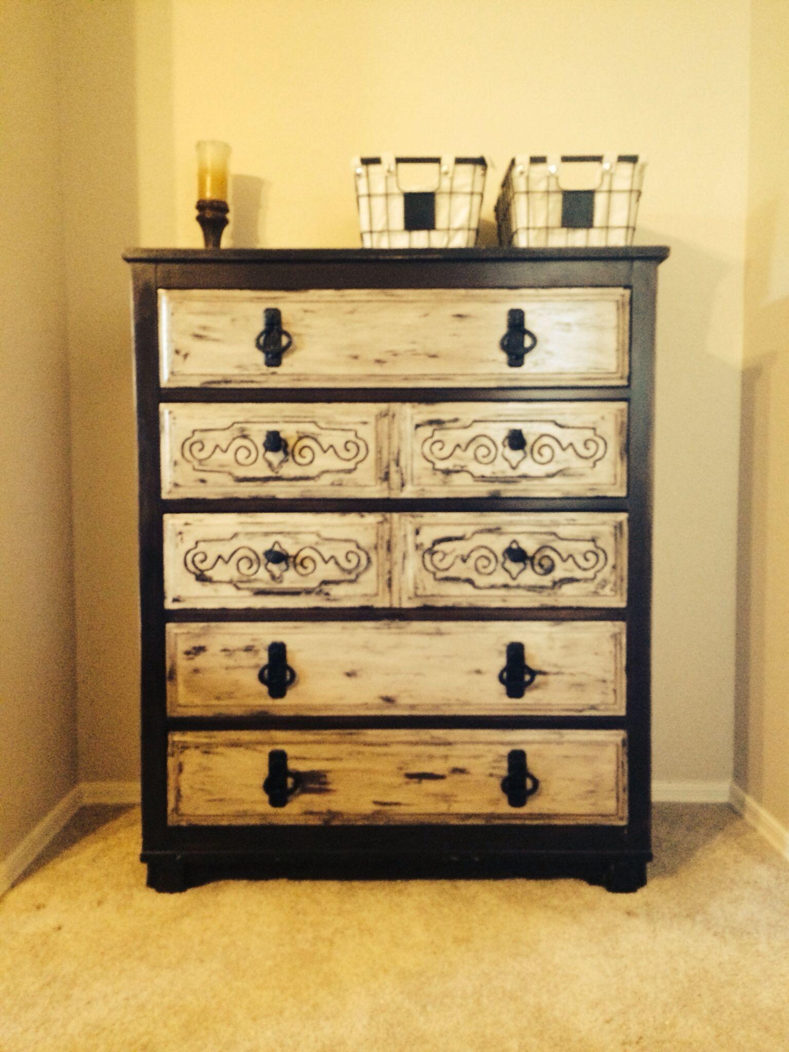 My goodwill makeover dresser Cool furniture, Antique