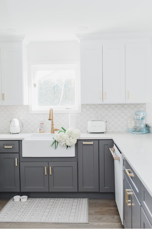My Cozy Coastal Inspired Kitchen Reveal