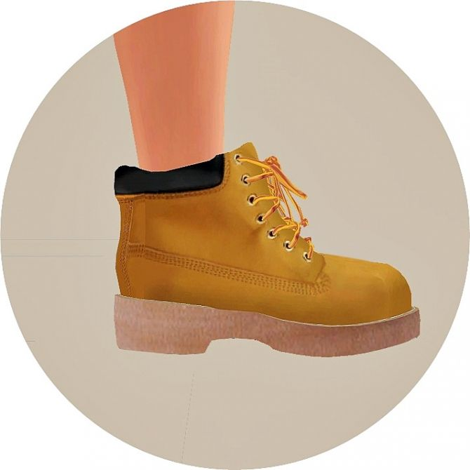 Male Hiking Boots at Marigold • Sims 4 Updates