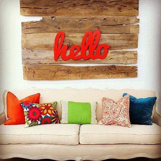 ideas inspiradoras para decorar paredes