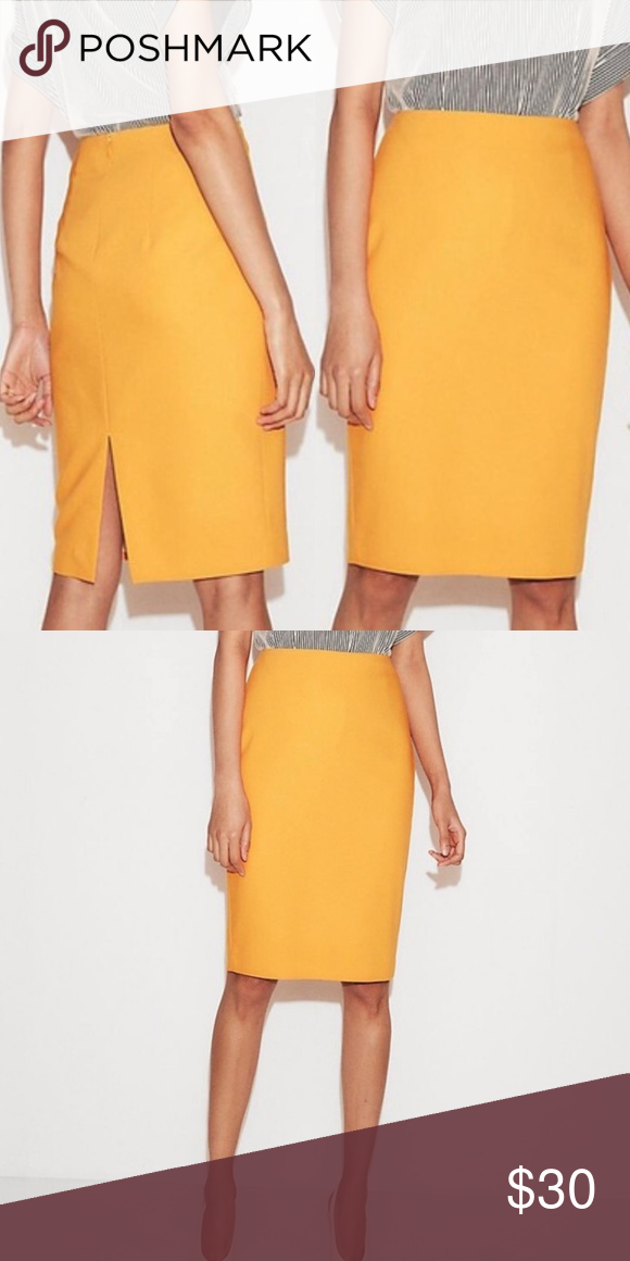 dc784c5fd High Waisted Clean Front Pencil Skirt Size 18 A versatile wear-to-work  staple