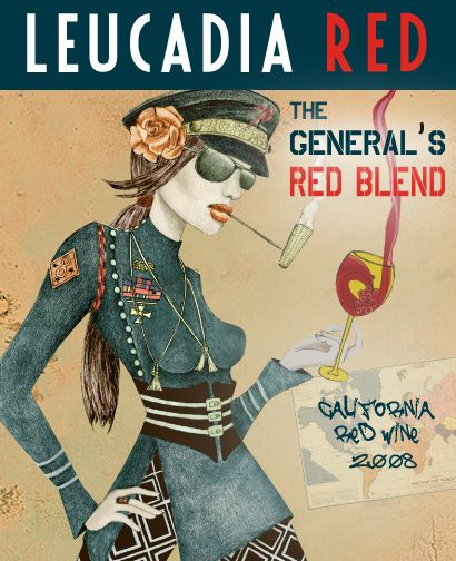 My wine label www.leucadiared.com