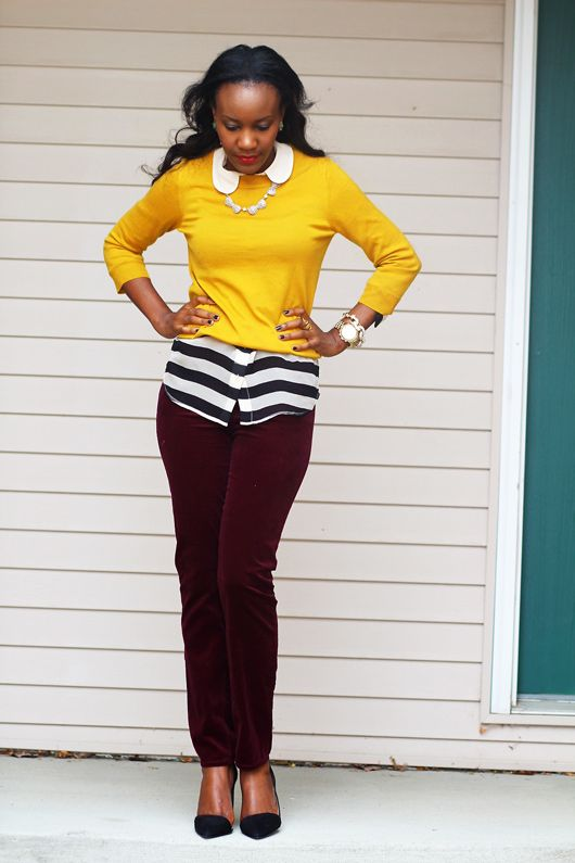 Mustard Burgundy Fashion Inspirations And Obsessions