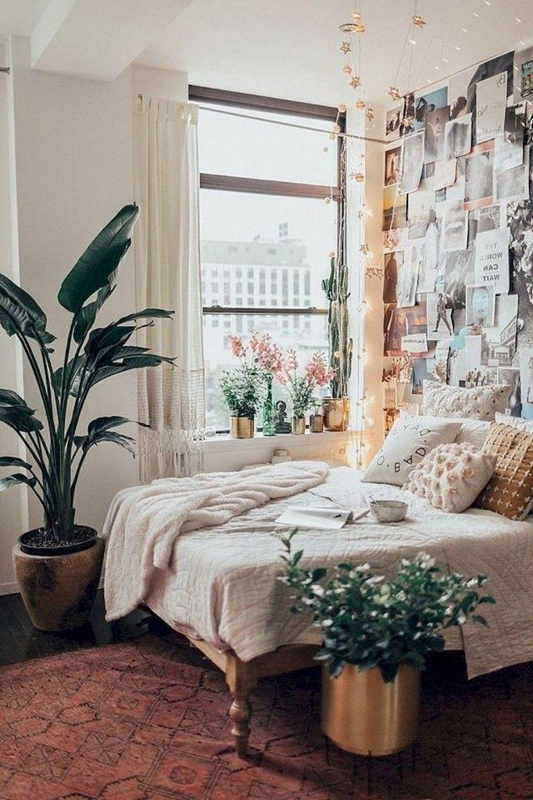 49 Top Apartment Bedroom Decor Ideas Boho Style Urban