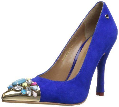Love Moschino Women's Jeweled Toe Dress Pump,Blue38 EU/8 M US,Blue,38 EU/8 M US Love Moschino http://www.amazon.com/dp/B00FEM3RYU/ref=cm_sw_r_pi_dp_fXdNtb0SF26P8D15