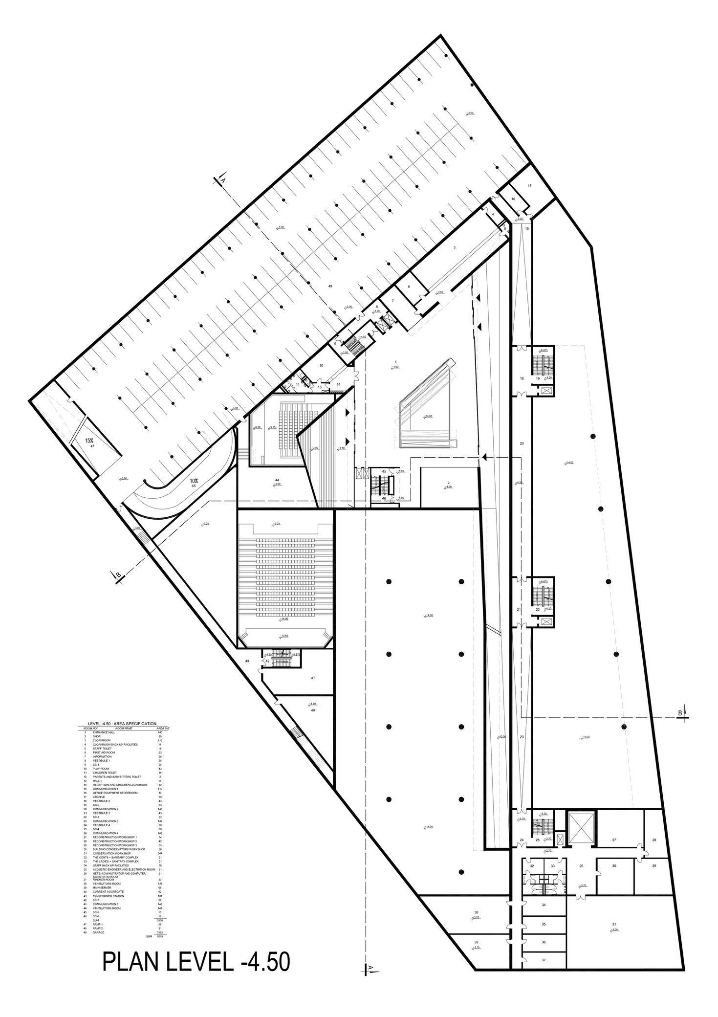 Museum Of The Second World War Studio Architektoniczne Kwadrat Arch2o Com World War Two Museum Architecture Museum Plan