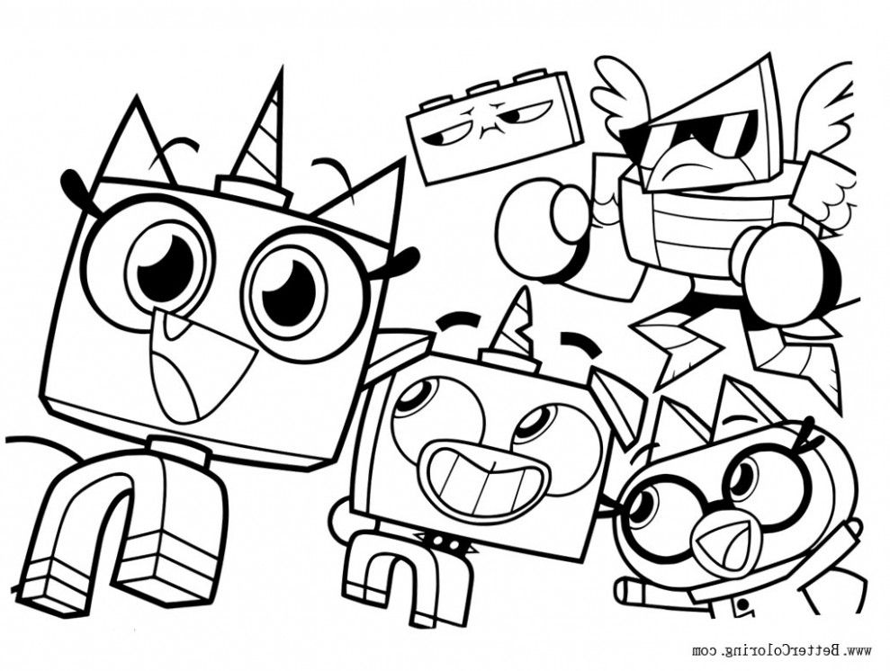 Five Doubts You Should Clarify About Unikitty Coloring Pages Coloring Coloring Pages Line Artwork Free Printable Coloring Pages
