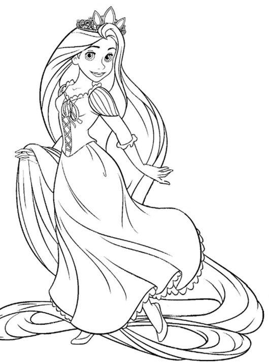 디즈니 공주 색칠공부 프린트 모음ppt파일 무료 디즈니공주