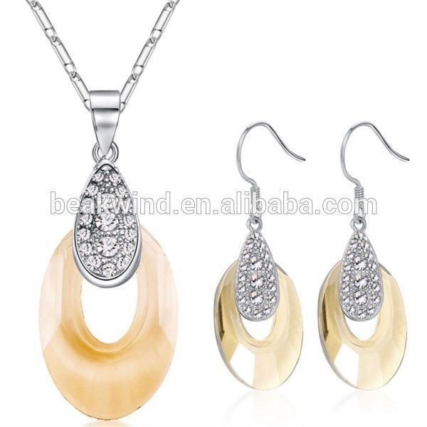 China jewelry wholesale wedding costume jewelry gold plated alloy JS