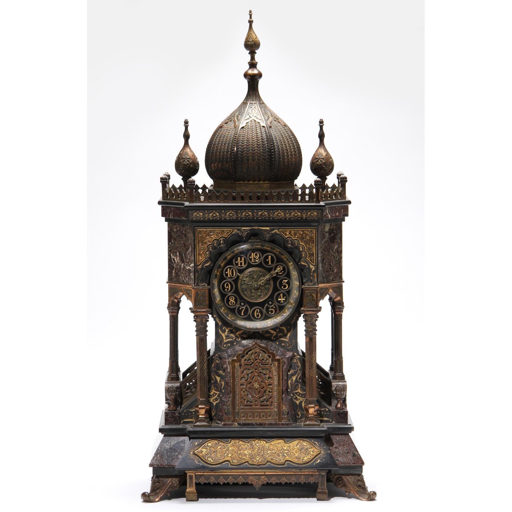 Tiffany & Co. Moorish revival mantel clock 1888  -  Leland Little