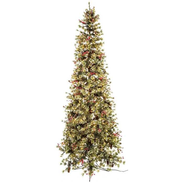 9 Fast Shape Slim Snow Needle Pine With Lights Hobby Lobby Slim Christmas Tree Pretty Christmas Trees Pre Lit Christmas Tree