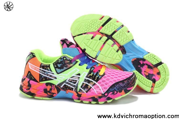 Buy New Asics Gel noosa TRI 8 Mens Hot Pink Green Sky Blue