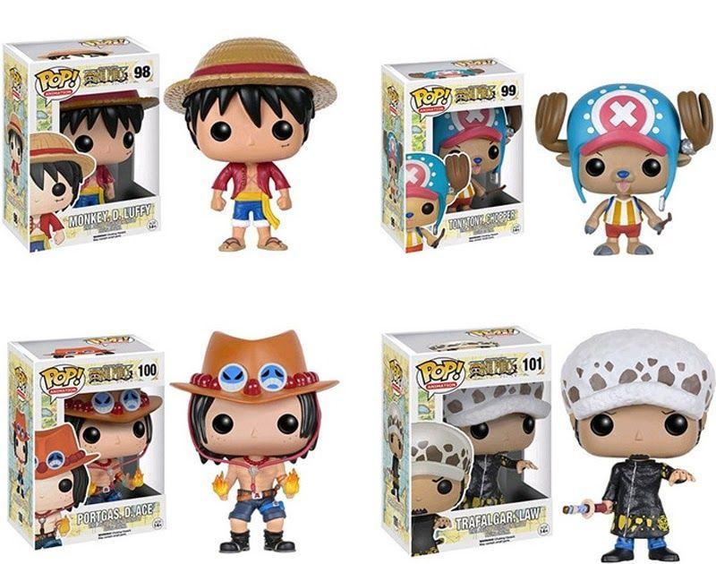 Big Discount Funko Pop One Piece Monkey D Luffyportgas D Acetrafalgar Lawtony Chopper Collection Action Funko Pop Anime Action Figures Toys Funko Pop One Piece