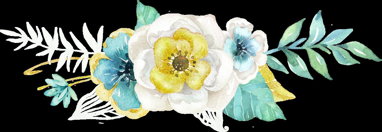 Mint Amp Gold 03 Png высечки Pinterest Floral Border