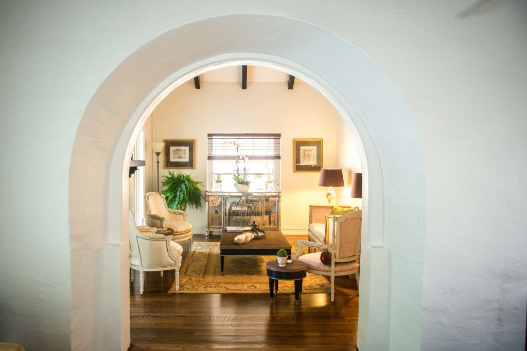 Old Spanish Homes Have Great Details Like This Archway Leading Into The Living Room Read