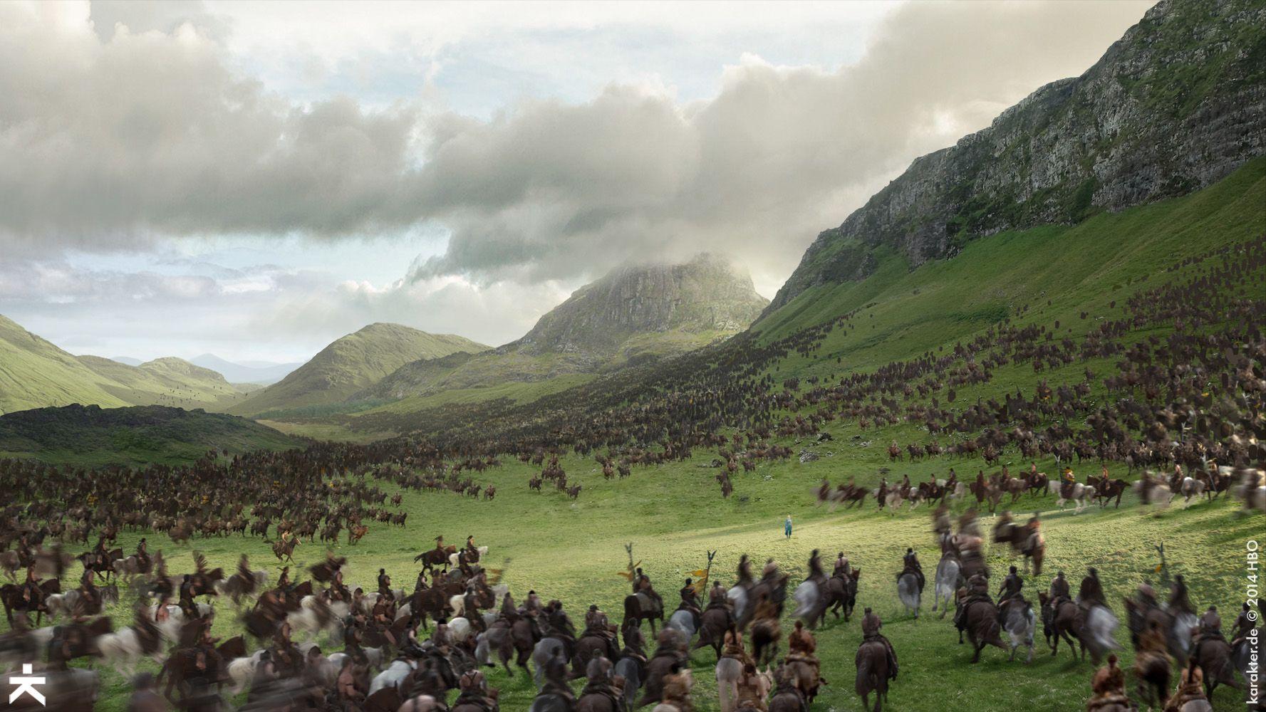 The Art Of Game Of Thrones Season 5 Arte Da Animacao Shows E Fogo