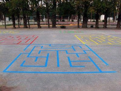 Pinta Tu Patio Para Jugar Con Nuestras Propuestas De Juegos