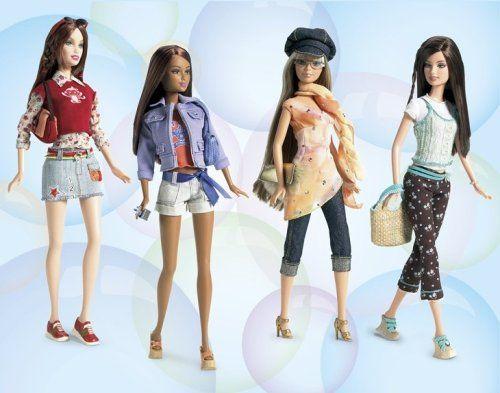 Amazon.com: J1362 Barbie Fashion Fever Doll - 8: Toys & Games