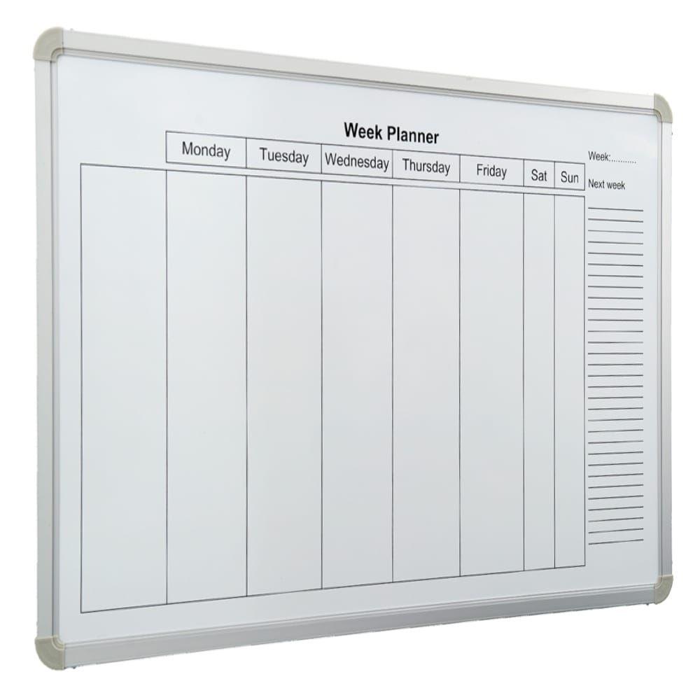 FRANKEN X tra!Line Planungstafel Jahreskalender 900 x 600 mm