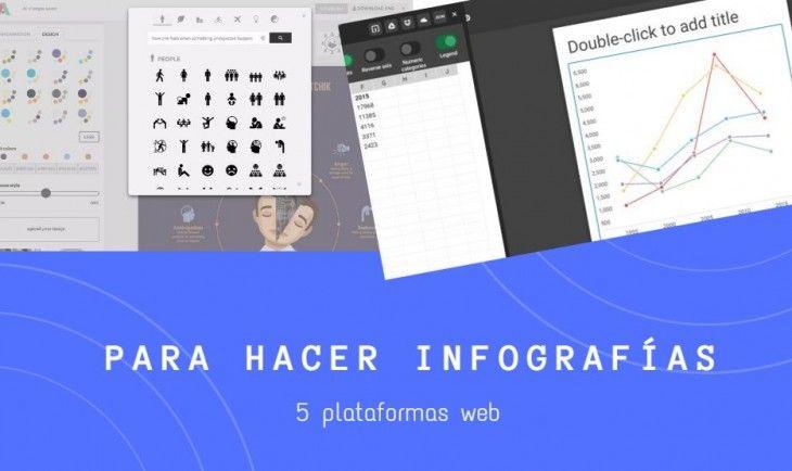 5 herramientas para hacer infografías