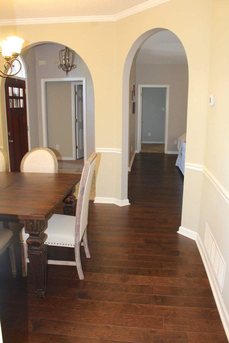 New Hardwood Flooring Installed Installing hardwood