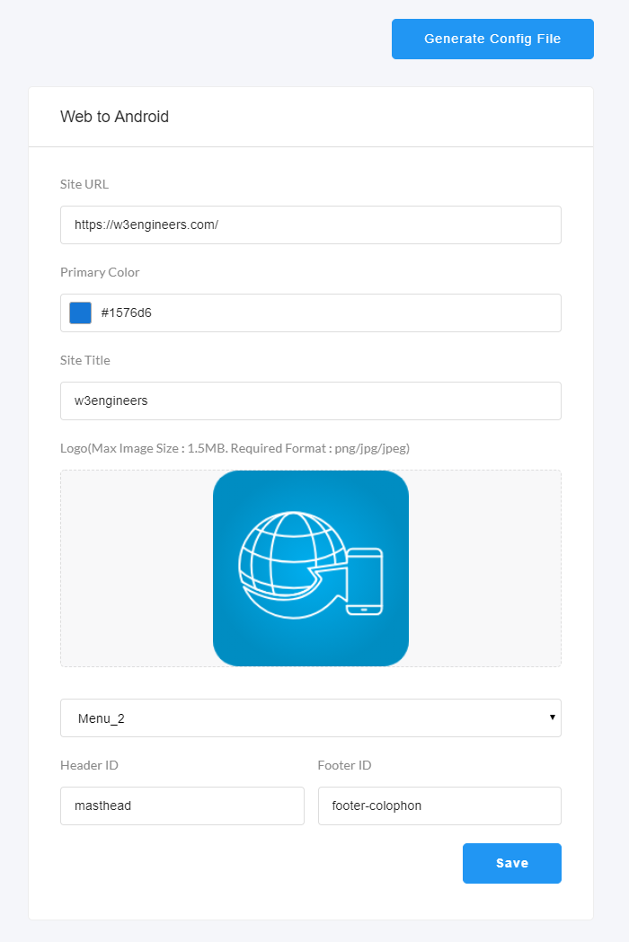 Applab - A Web to Android App Generator | Polaroid Templates