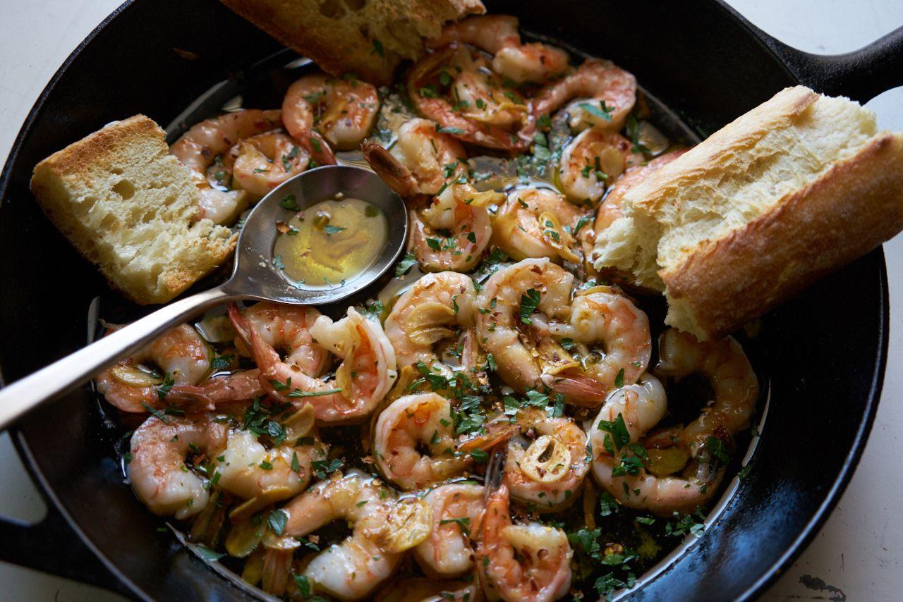 Garlic Shrimp (Gambas al Ajillo) #garlicshrimprecipes