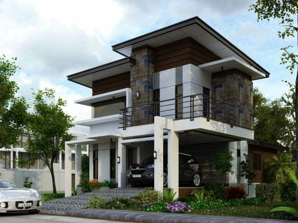 Compound Wall Design, Modern Interior, Car Parking, House Plans, Porsche  Cars,