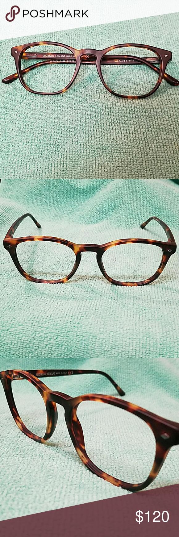 44640ef9faa0 Giorgio Armani AR7074 5492 Giorgio Armani Tortoise Eyeframe. No case. Frame  only. Giorgio Armani Accessories Glasses